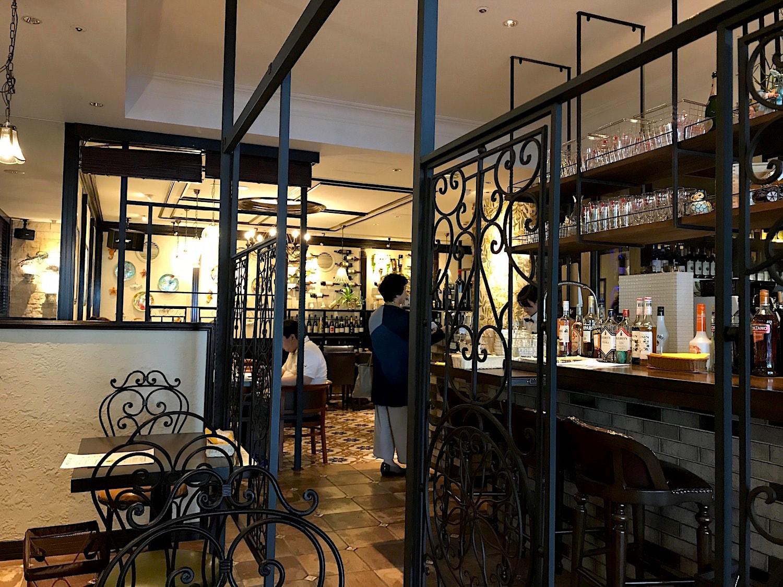 ダニエルズアルバの店内写真