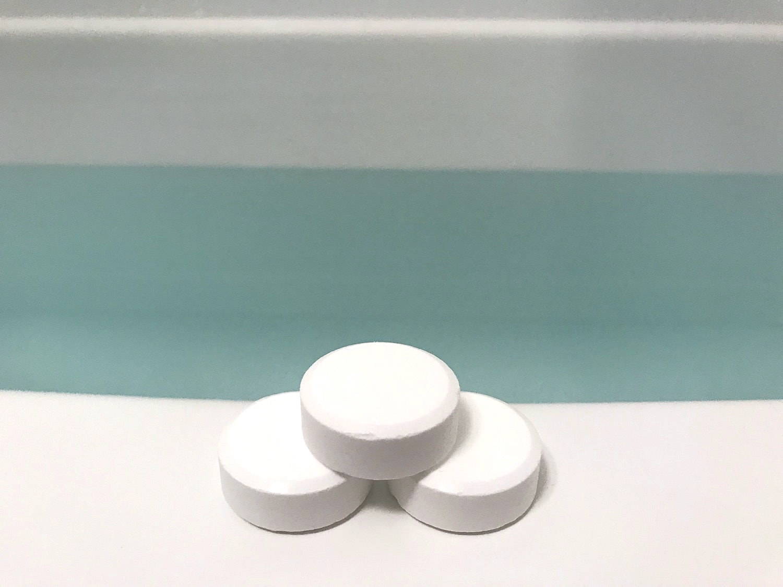 BARTHの使い方の説明用の錠剤の写真
