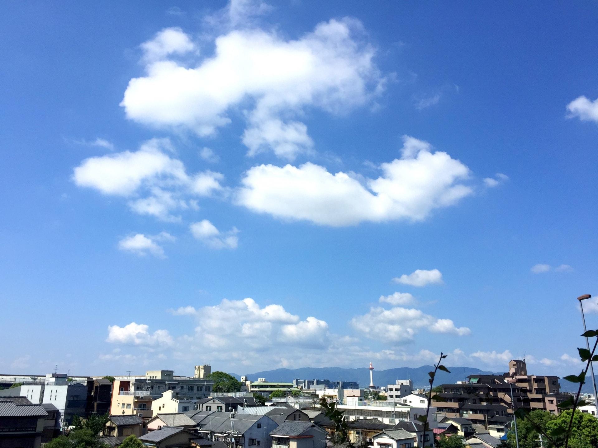 京都の気候のイメージ
