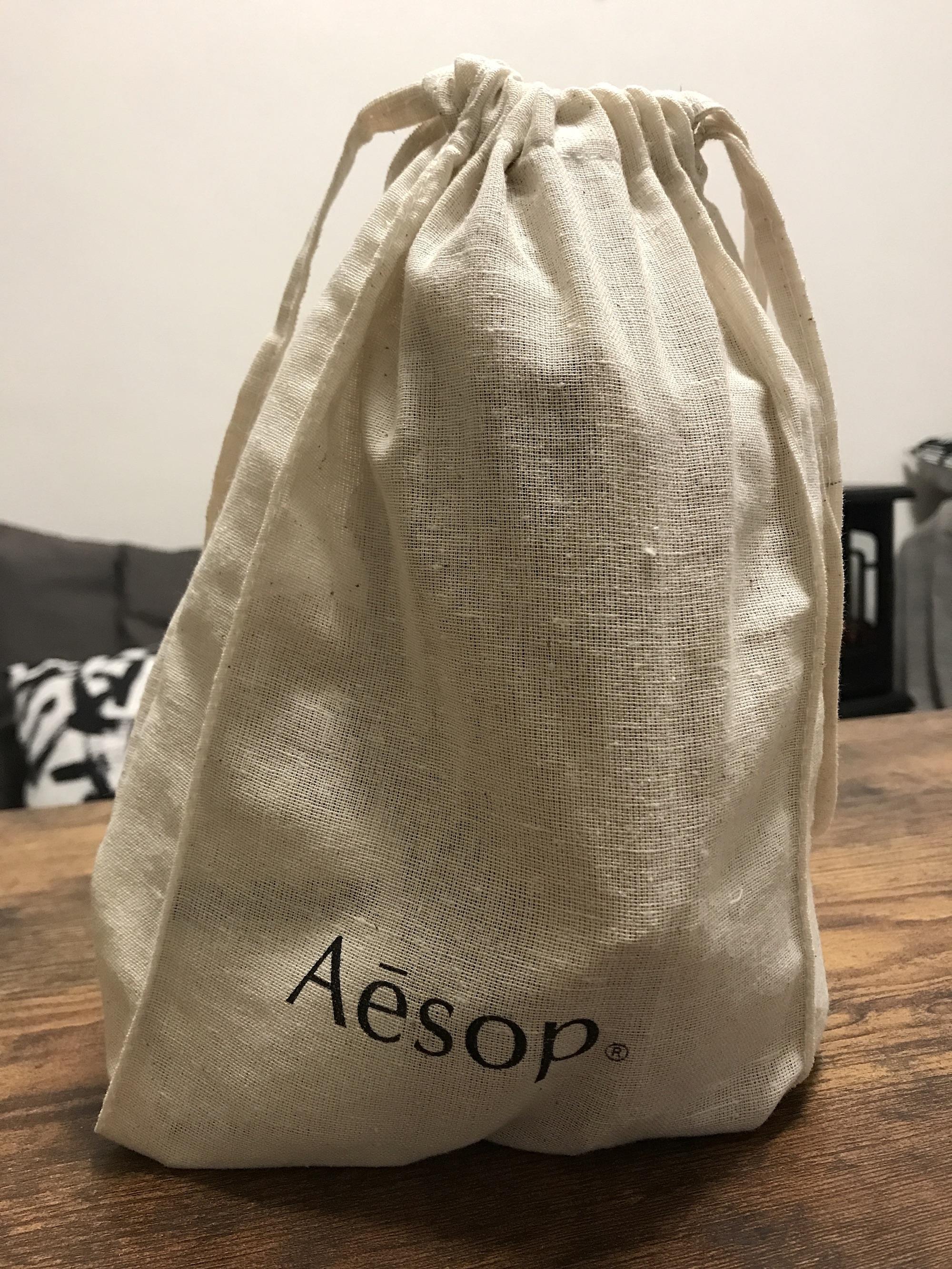 Aesop マウスウォッシュの袋
